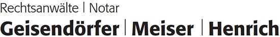 Logo-Rechtsanwaelte-Notar-Geisendoerfer-Meiser-Henrich